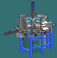 Machine for assembly of rings